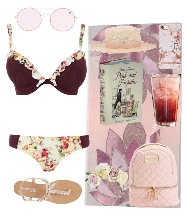 Pretty Soldier Sailor Moon Dark Kingdom Beach Day: Pink DD Girl by plum-and-peaches on Polyvore