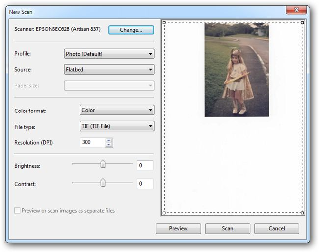 How To Properly Scan a Photograph (And Get An Even Better Image)