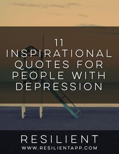 Depression is one of the most difficult things you can ever have to endure in life. But you can get through it, and there is hope for your future.