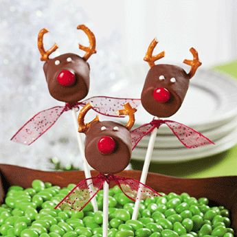 Homemade Chocolate Covered Marshmallow Rudolph Reindeer Homemade Marshmallows Christmas Dessert