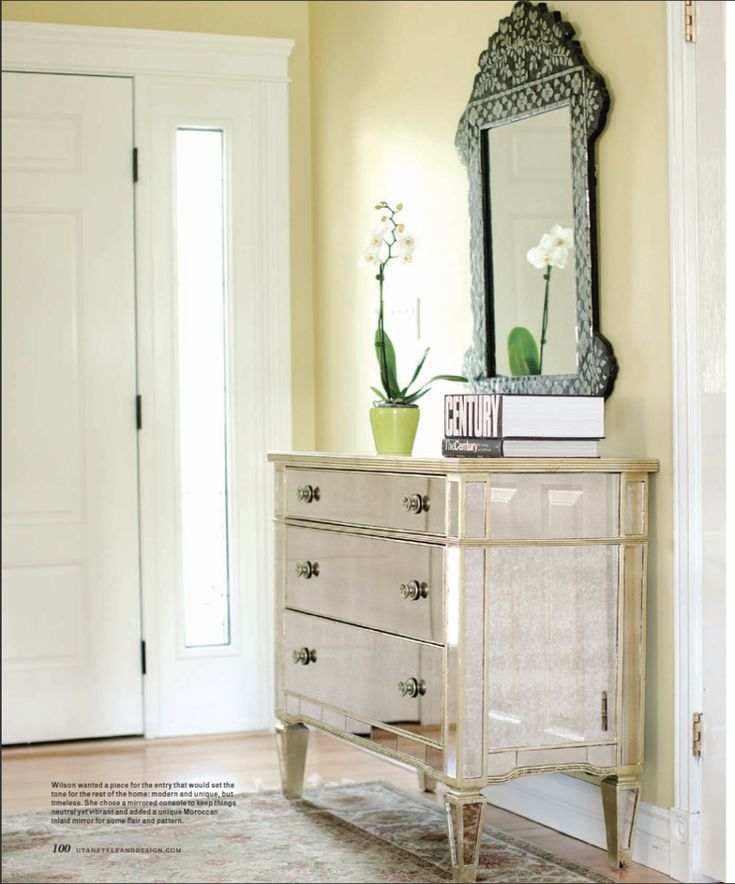i love mirrored furniture - Mirrored Dresser Cheap