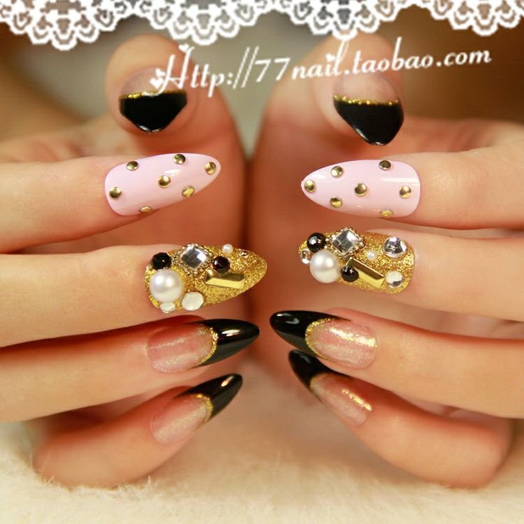 107 best Stiletto nails images on Pinterest | Nailed it, Nail art ...