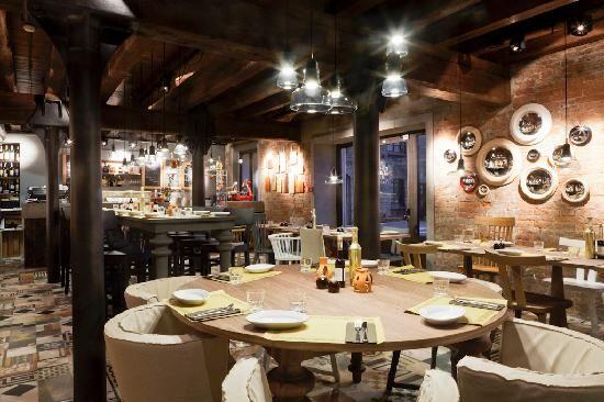 Restaurant Bacaromi à Venise