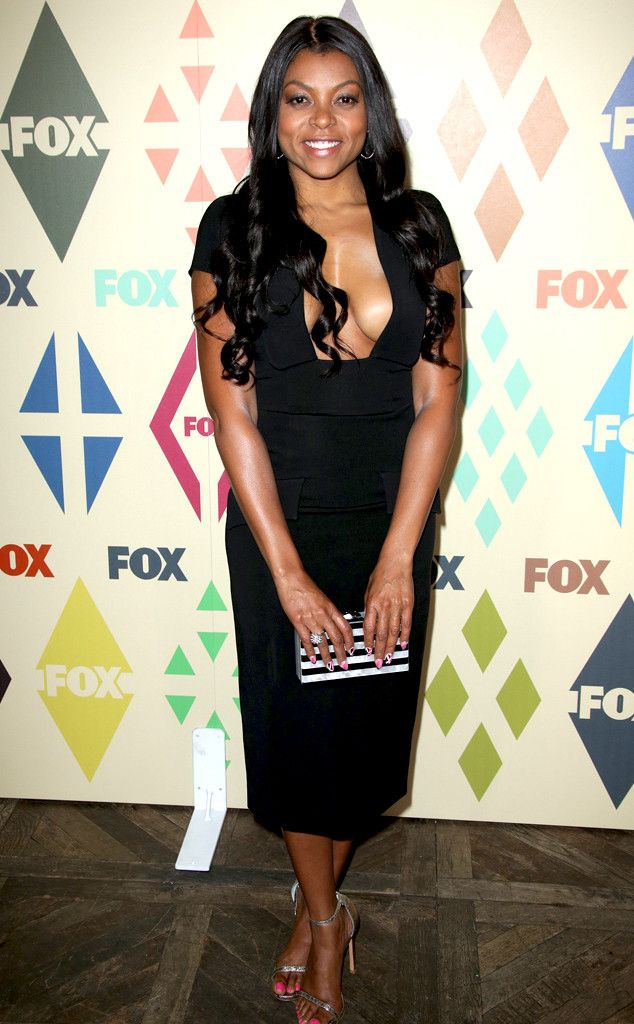 Taraji P. Henson from The Big Picture: Today's Hot Pics  Empire's Cookie shines in L.A. at Fox's TCA party.