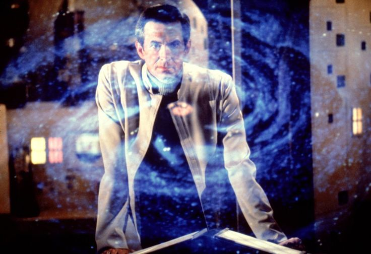 Anthony Perkins in The Black Hole (1979)