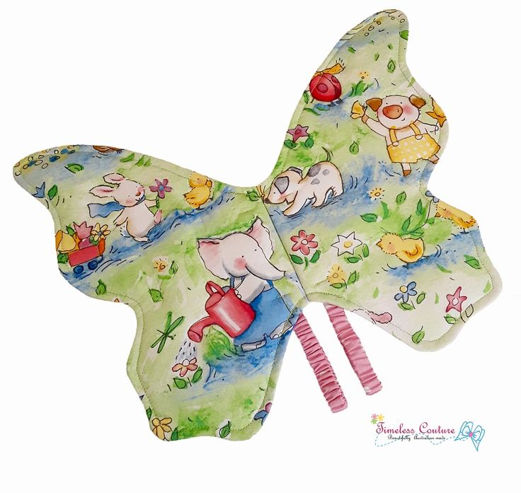 BABY PETS - Butterfly Baby pets print butterfly is sweet and colourful, great for a child to learn more about pets as they name each one. #butterfly #accessory