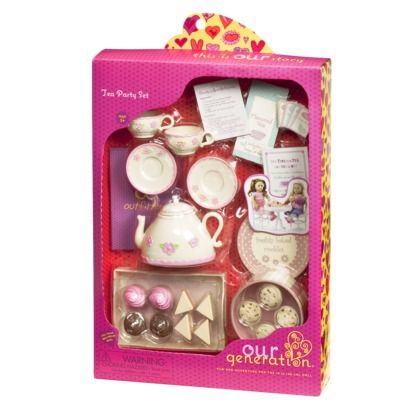 Our Generation Tea Party Accessory Set $13.99 Target