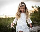The Chloe - Flower Girl Lace Dress, Birthday Dress made for girls, toddlers, infants, ages 1T, 2T,3T,4T,5T,6, 7, 8, 9/10, 11/12