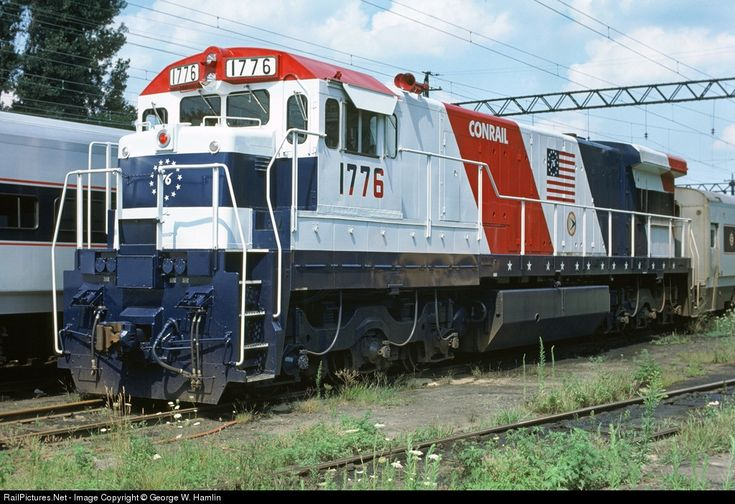 Conrail #1776 GE U34CH