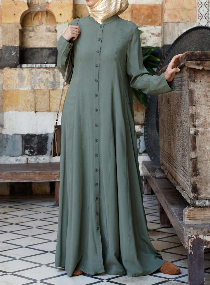 Shirtdress with Godets - SHUKR