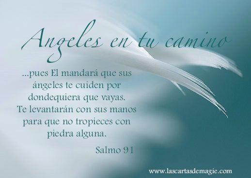 Salmo 91....leelo tiene preciosas promesas de Dios......ANGELES GUERREROS | Las Cartas de Magie