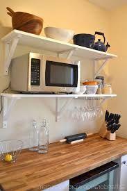 Image result for microwave shelf ideas