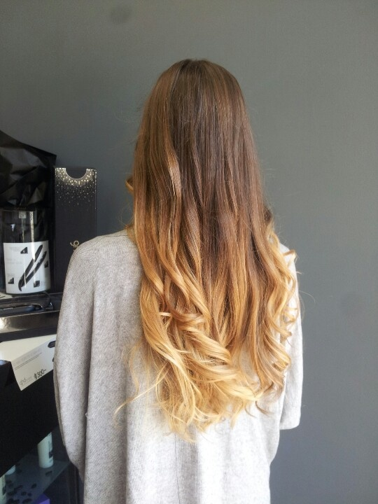 Brown blonde ombre hair hair pinterest ombre blonde ombre hair and my hair - Ombre braun blond ...