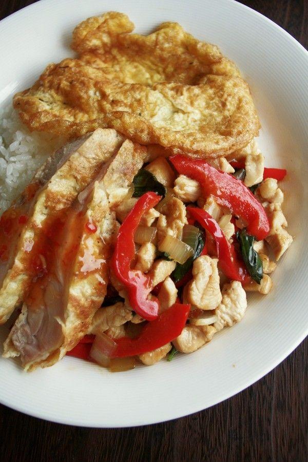 タイ人も大好き!鶏肉のバジル炒めごはん、ガイ・パット・ガパオ by ...