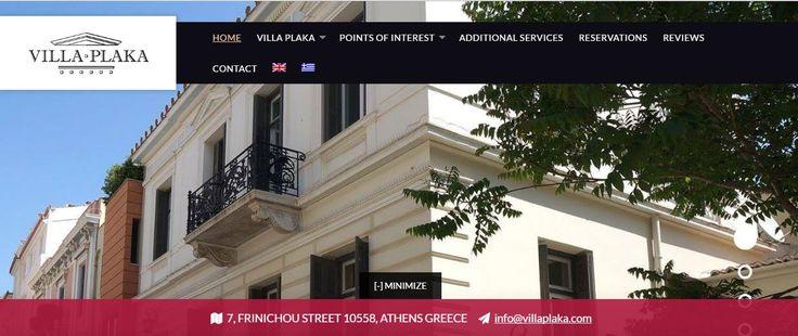Την κατασκευή του site της Villa Plaka (www.villaplaka.com) ολοκλήρωσε η Just Online, δημιουργώντας μια εικόνα ανάλογη του οικήματος και με ανάλογο design. Στον ιστότοπο μπορείτε να δείτε τους εσωτερικούς και εξωτερικούς χώρους της βίλας, τις υπηρεσίες που προσφέρει, κριτικές και βεβαίως να κάνετε κράτηση για μια αξέχαστη διαμονή!