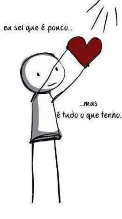 A vida é minha... mas meu coração é seu.!...