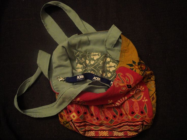 Whats inside a new bag that is made from an old one by PouPée-Pe