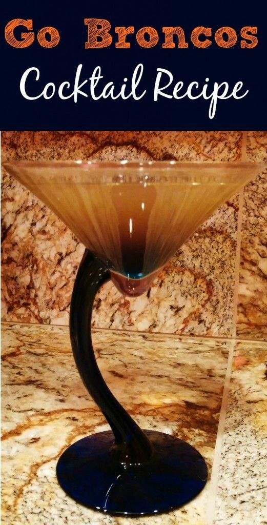 denver broncos cocktail recipe