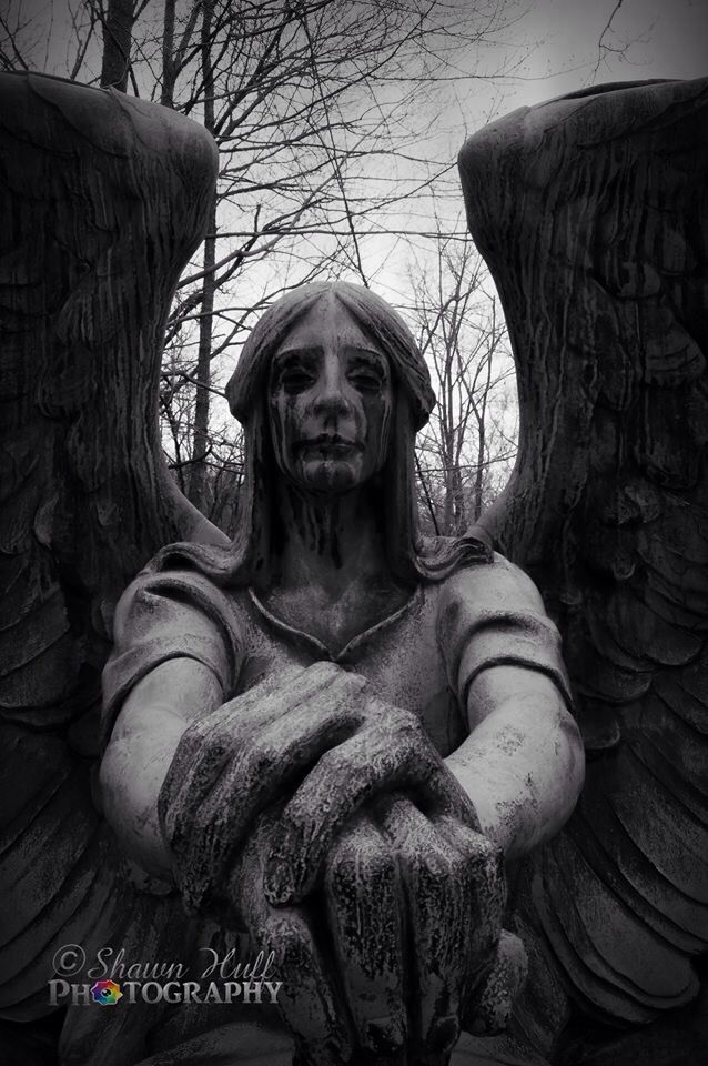 angel of gothic tombstone-#37
