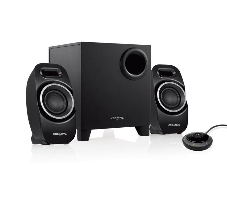 CREATIVE T3250 2.1 Wireless PC Speakers: Enjoy great quality music from any PC and Bluetooth device with the… #Electrical #HomeAppliances