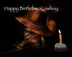 Bildresultat för happy birthday cowboy