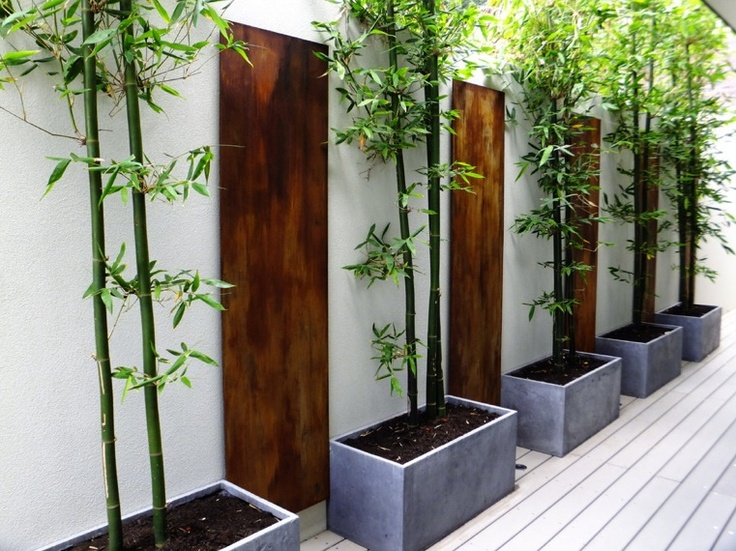 Wood sections at intervals - Ascher Smith Landscape Designs