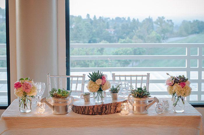 A rustic spring wedding by Krista Mason - Wedding Party