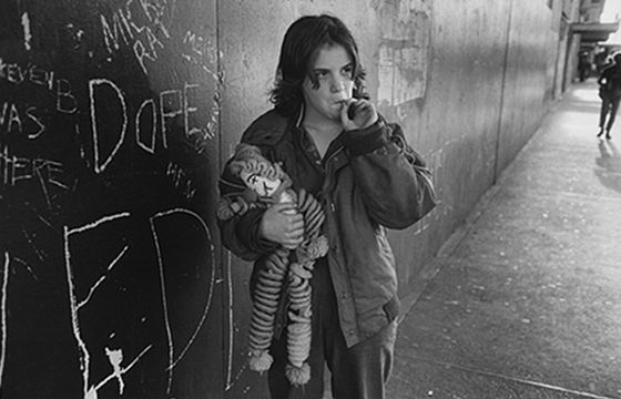 Juxtapoz Magazine - The Homeless Kids of Seattle by Mary Ellen Mark