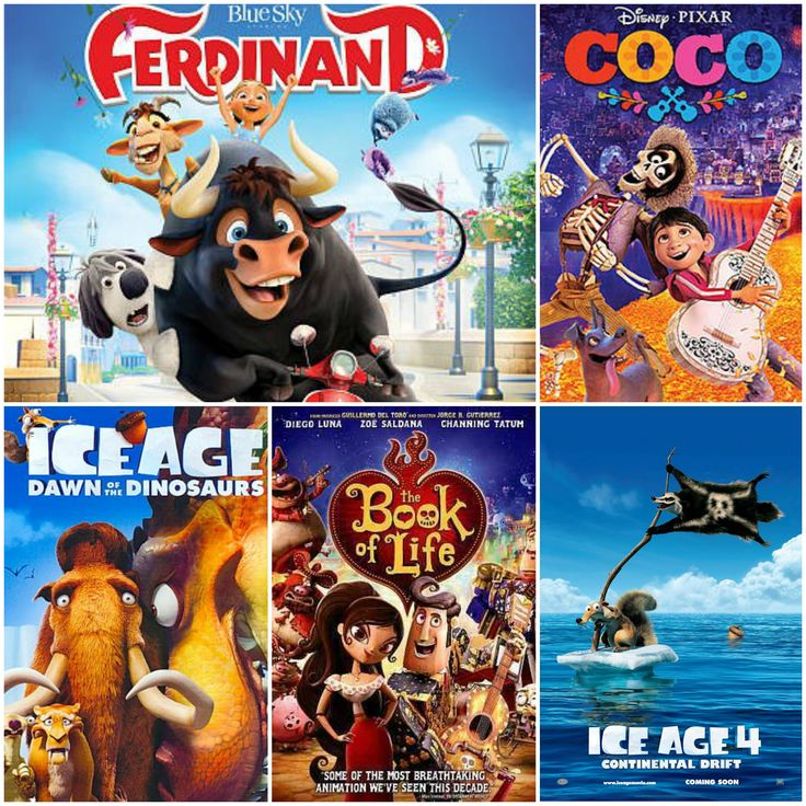Are you eagerly awaiting the arrival of Ferdinand, the story of a flower-loving nonviolent bull? Watch some of these other family films in the meantime! #WordOnWednesday  - Ice Age: Dawn of the Dinosaurs  - Ice Age: Continental Drift - The Book of Life - Coco