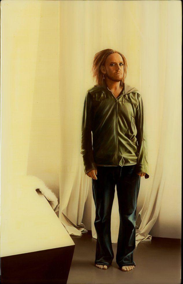 Tim Minchin by Sam Leach. Winner Archibald prize 2010.