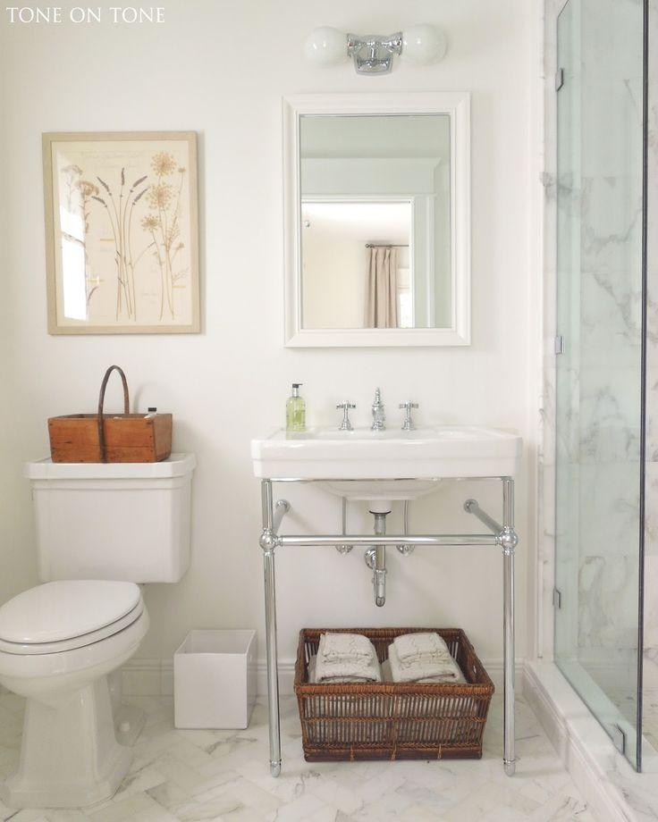 Contemporary Art Sites Tone on Tone Bathrooms