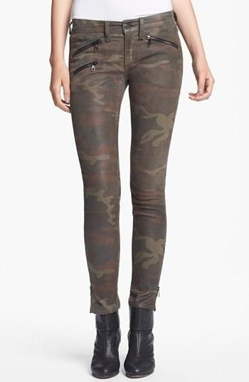 rag & bone Skinny Camo Print Leather...     $1,045.00