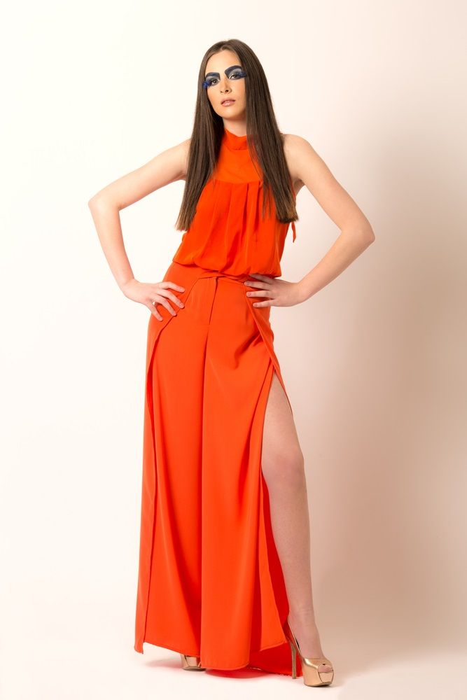 Styling Project Dalles Go Tangerine outfit spring summer 2015