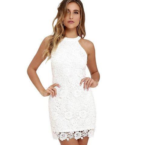 Sheath Bodycon Lace Dress