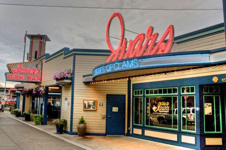 13 best the ivar 39 s sign images on pinterest for Fish restaurant seattle