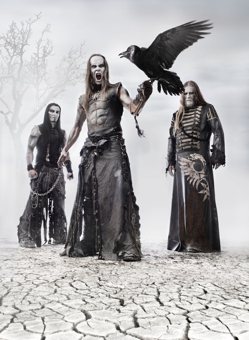 Behemoth is one of those bands I like, but freak me out if I listen to two or more songs consecutively.