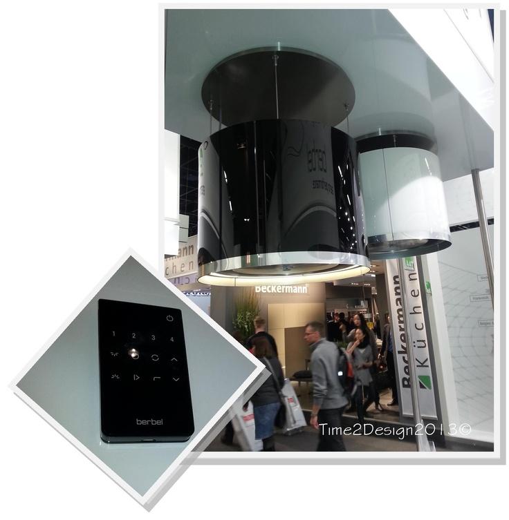 retractable ventilation hood! Remote control operated