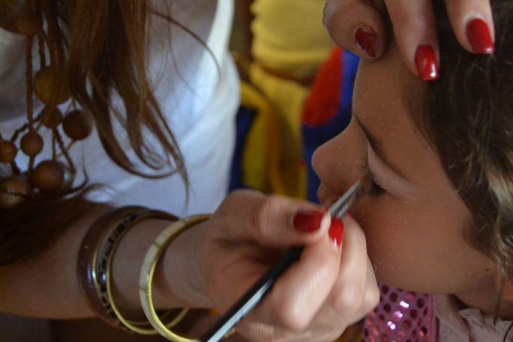 Maquilhagem, a delicia das princesinhas