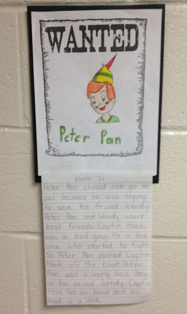 The Lesson Plan Diva: Persuasive #Writing-- persuasive arguments on whether or not Peter Pan should go to jail for pushing Captain Hook over the boat.---use this but make it more mature