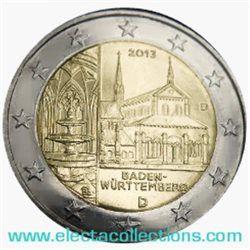 Germania - 2 Euro, Monastero Maulbronn, 2013