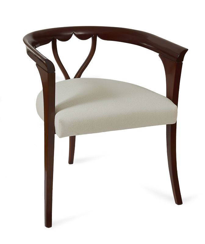 """Adore"" emerges as the epitome of elegance and sophistication that are translated all across this chair in rapturous shapes with refined fine points.  #bateye #luxuryfurniture #londoncollection"