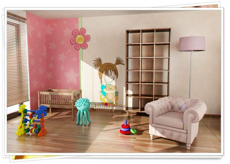 tapety ścienne do pokoju dziecka