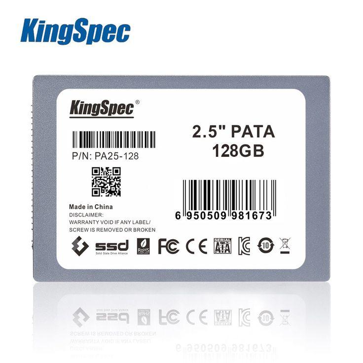"Kingspec 2.5"" 44PIN PATA IDE SSD 8GB 16GB 32GB 64GB 128GB Solid State Disk Flash Drive Computer SSD Hard Drive Laptops //Price: $39.19//     #gadgets"