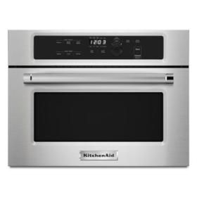 kitchenaid 24 built in microwave oven with 1000 watt cooking stainless steel - Kuechengeraet Pakete
