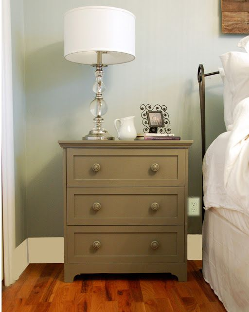 Take the Side Street: IKEA Hack Nightstand Construction Details