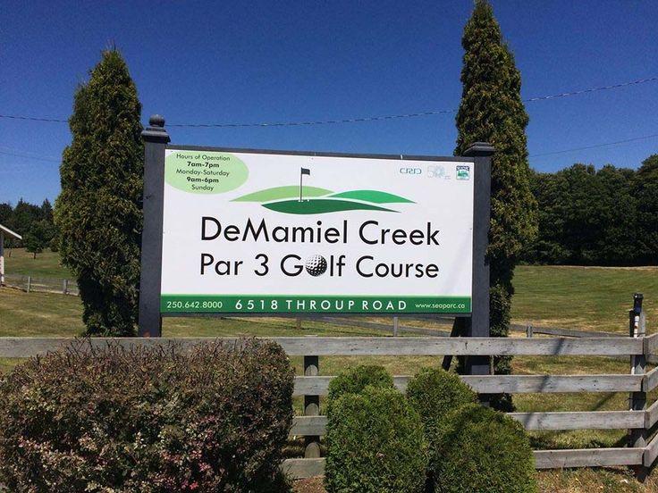 DeMamiel Creek Par 3 Golf Course, 6518 Throup Road, Sooke, British Columbia, Canada