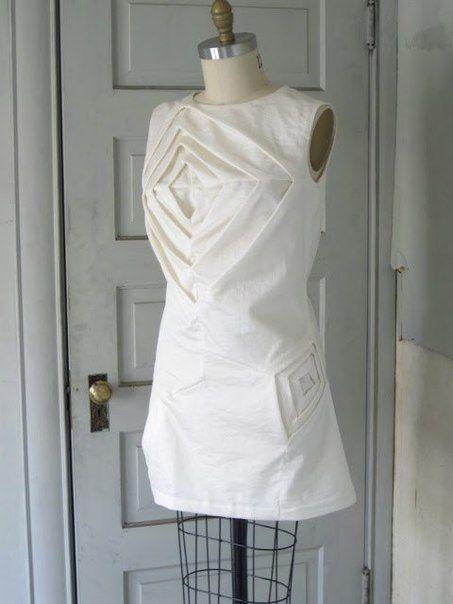 Платье оригами. Мини МК / Идея Воркаута