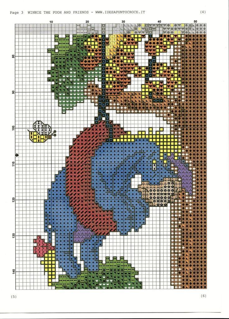Winnie the pooh y compañía sobre un árbol 4/8