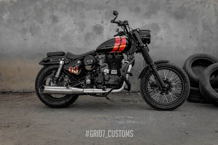 Grid7 Customs Royal Enfield Bullet Classic 350