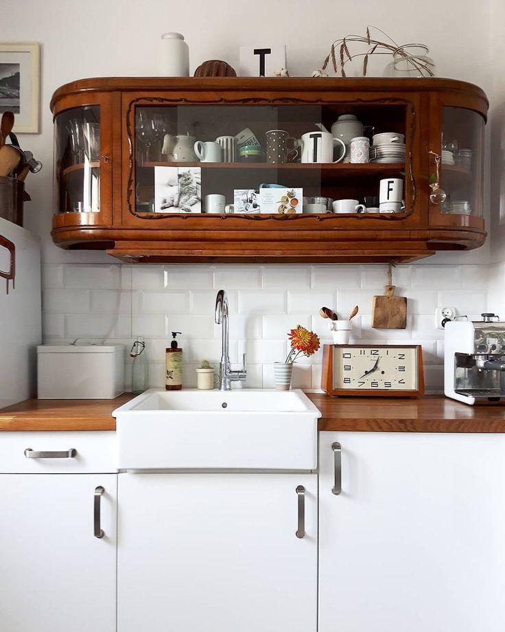 Kitchen with vintage style #kitchen #vintagestyle…